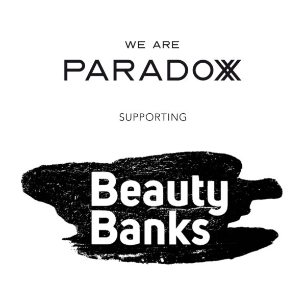 WE ARE PARADOXX SUPPORTING BEAUTY BANKS