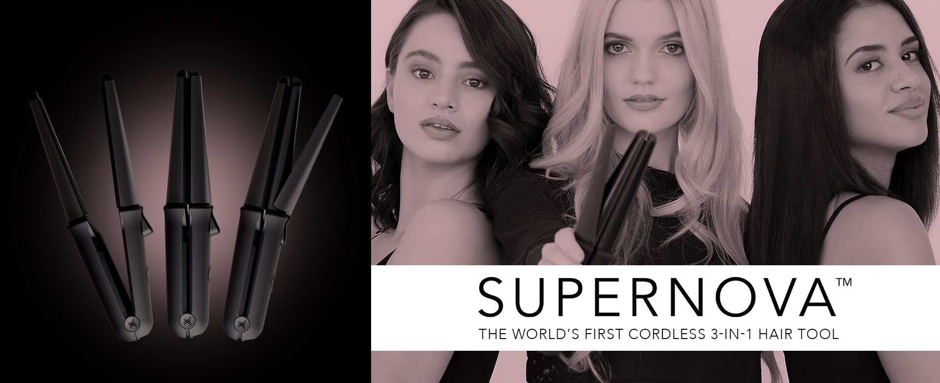 We Are Paradoxx Supernova Cordless 3-in-1 Hair Tool