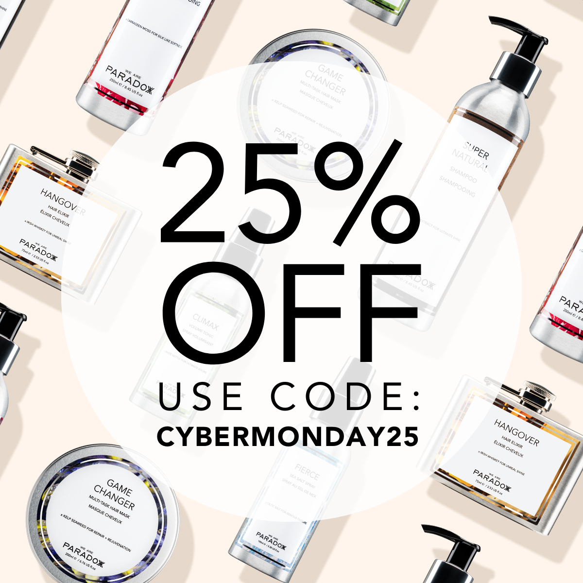 cyber monday we are paradoxx